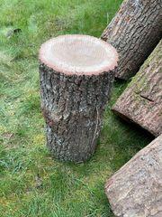 Brennholz Hauklotz