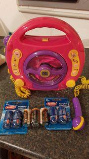 Kinder-CD-Spieler mit Mikrofon