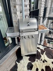Burnhard Fred Jr Deluxe Gasgrill