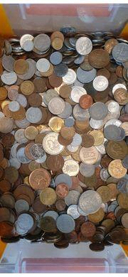 40 Kilogramm Weltmünzen