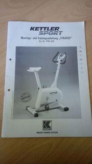 KETTLER STRATOS ERGOMETER-Cardiotrainer-HEIMTRAINER-Hometrainer