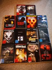 Versch Horrorfilme DVD