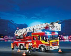 Playmobil - Feuerwehr-Leiterfahrzeug mit Licht und Sound