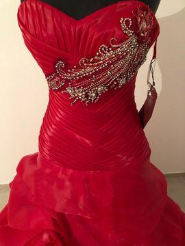 Festliche Abendbekleidung, Damen und Herren - Ballkleid evtl Verlobungskleid