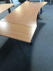 Schreibtisch Bürotisch Arbeitstisch Freiform von