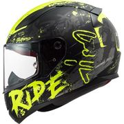 Helm LS2 NAUGHTY schwarz-neongelb XS