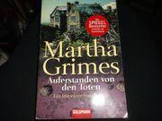 Martha Grimes Auferstanden von den