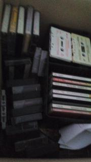 Kassetten und CD verschiedene