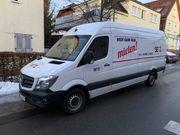 Vermiete Mercedes Sprinter Transporter um