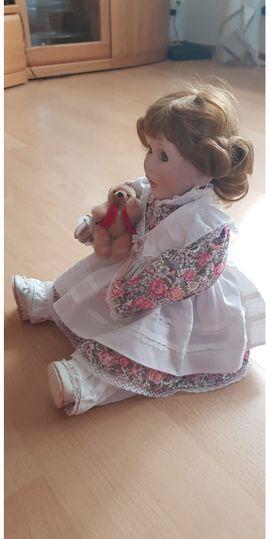 Puppen - Sammlerpuppe Petra mit Echtheits-Zertifikat