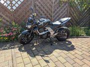 Kawasaki Z 750 schwarz Bj