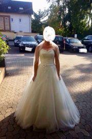 Hochzeitskleid in Elfenbein
