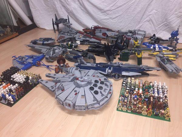 Lego Star Wars Sammlung mit