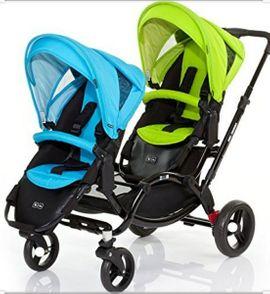 Kinderwagen - ABC Zoom Geschwisterwagen