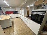 HÄCKER Küche Inselküche Ausstellungsstück Induktion