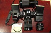 Canon A1 mit Anhang