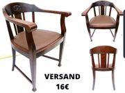 Art Deco Armlehnstuhl Schreibtischstuhl Bauhaus