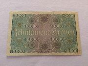 10000 Kronen 1924 zu verkaufen