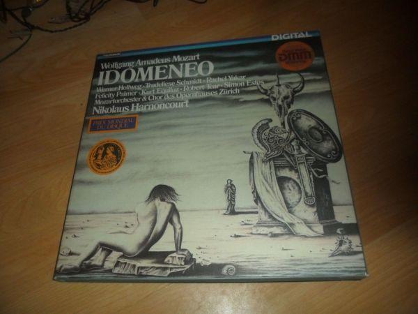 Grosses Album Mozart Idomeneo Gesamtaufnahme