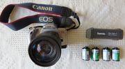 CANON Spiegelreflex-Kamera mit Zubehör