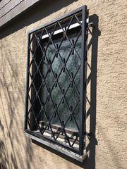 Einbruchschutz Fenstergitter Schmiedeeisen