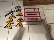 Einige Schilder für Garage oder