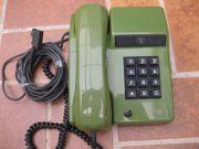 Schönes altes Grüne Tasten Telefon