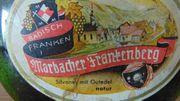 1963er Wein Marbacher Frankenberg Silvaner