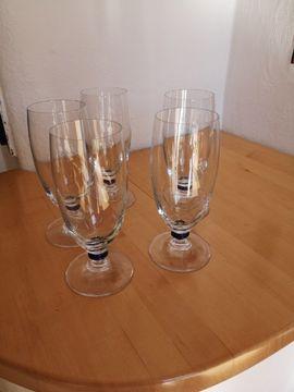 Glas, Porzellan antiquarisch - Cognacschwenker und Pilsgläser von Leonardo