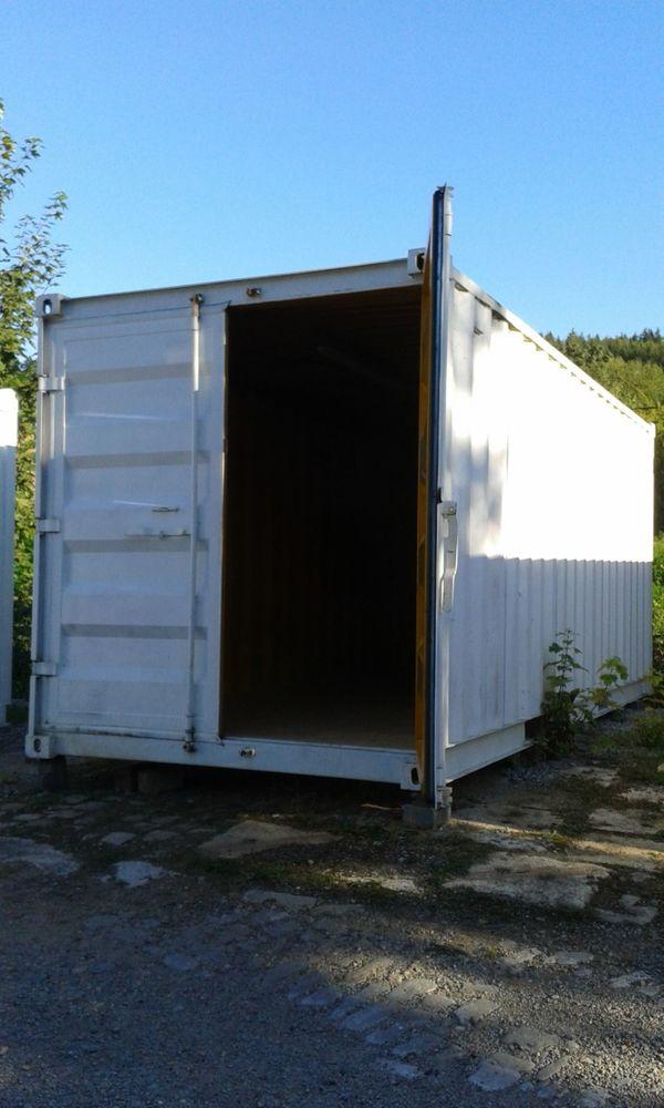 Lagercontainer Lagerplatz Selfstorage Container zur