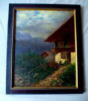 tolles Ölgemälde Gemälde vor 1900