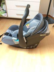 Neuwertige Babyschale mit Base