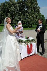 Hochzeitstauben - weisse Tauben