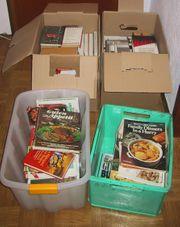 4 kartons verschiedene Bücher