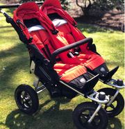 Zwillings- Geschwisterbuggy TFK Twin Adventure