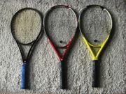 2 Tennisschläger DDC TITANIUM Logical