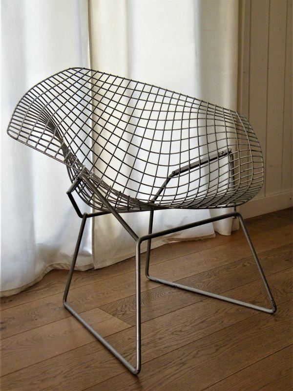 Original Diamond Chair Harry Bertoia