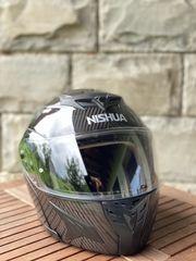 Motorradhelm Marke NISHUA