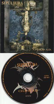 CD - Sepultura - Chaos A D