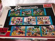 Paket mit Puzzlen Bücher Spielen