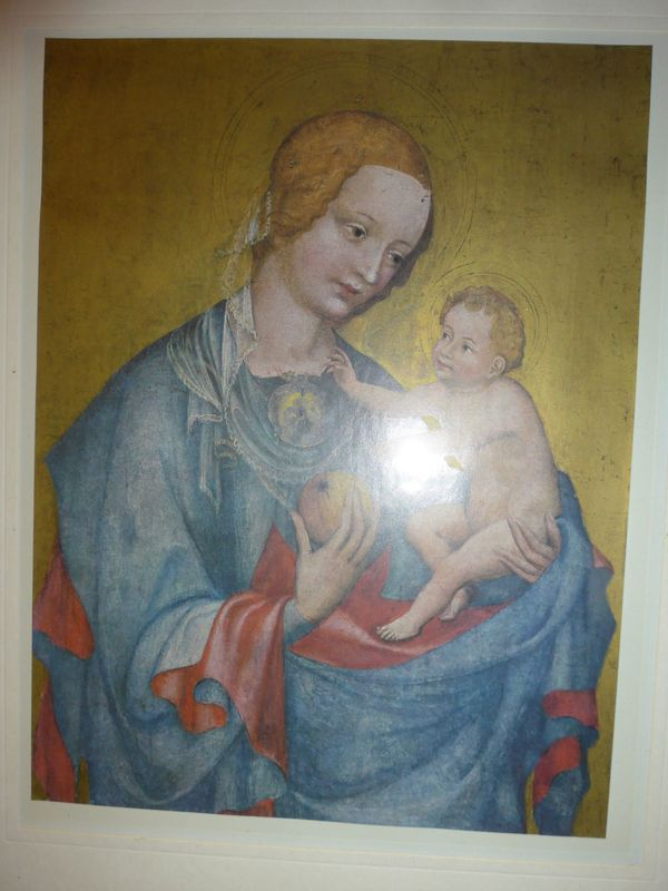 Wandbild Madonna mit Kind Kunstdruck