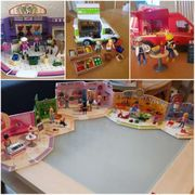 Playmobil 6x verschiedene Geschäfte Hofladenfahrzeug