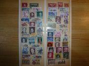 Sammlung 260 gestempelter österreichischer Briefmarken