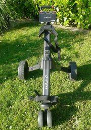 Golftrolley Elektro Nano Max schwarz