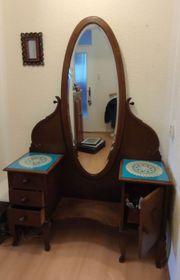 Spiegelschrank im Biedermeier Stil