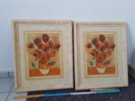 Blumenbilder im Rahmen: Kleinanzeigen aus Rednitzhembach - Rubrik Dekoartikel