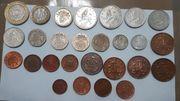 Großbritannien Münzen Lot