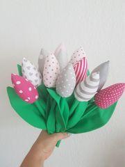 Tulpen aus Stoff