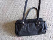 Vintage - Tasche Handtasche Kunstleder schwarz