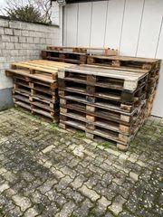 Euro Paletten Einwegpaletten Brennholz zu